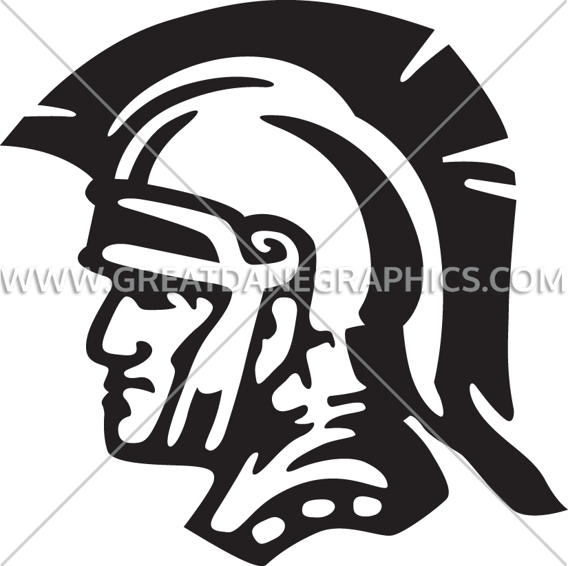 Helmet clipart gladiator. Head production ready artwork