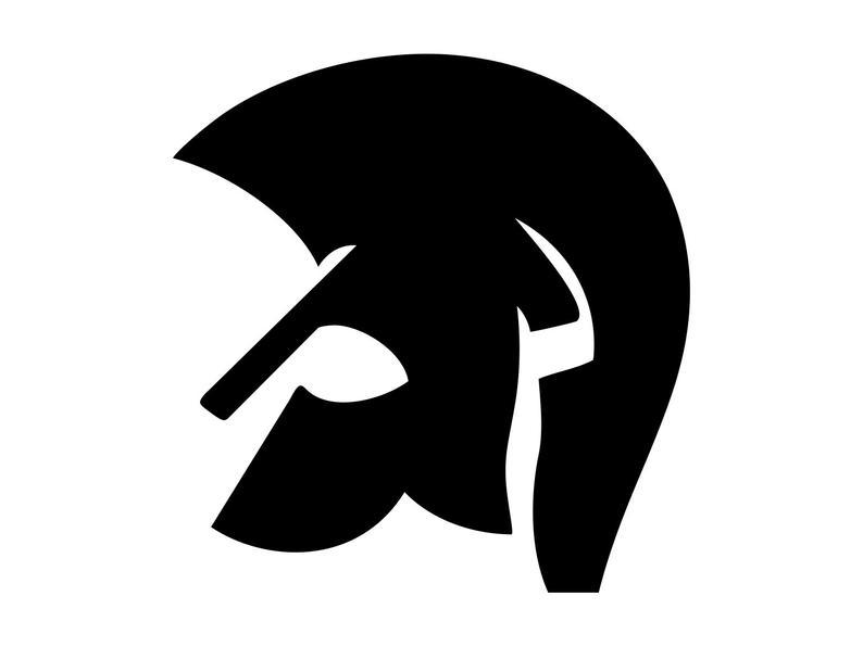 Helmet clipart gladiator. Svg silhouette vector png