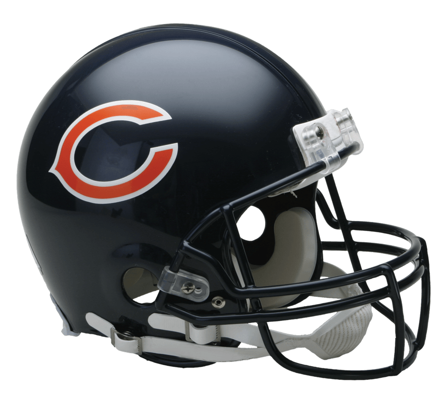 Transparent stickpng. Chicago bears helmet png