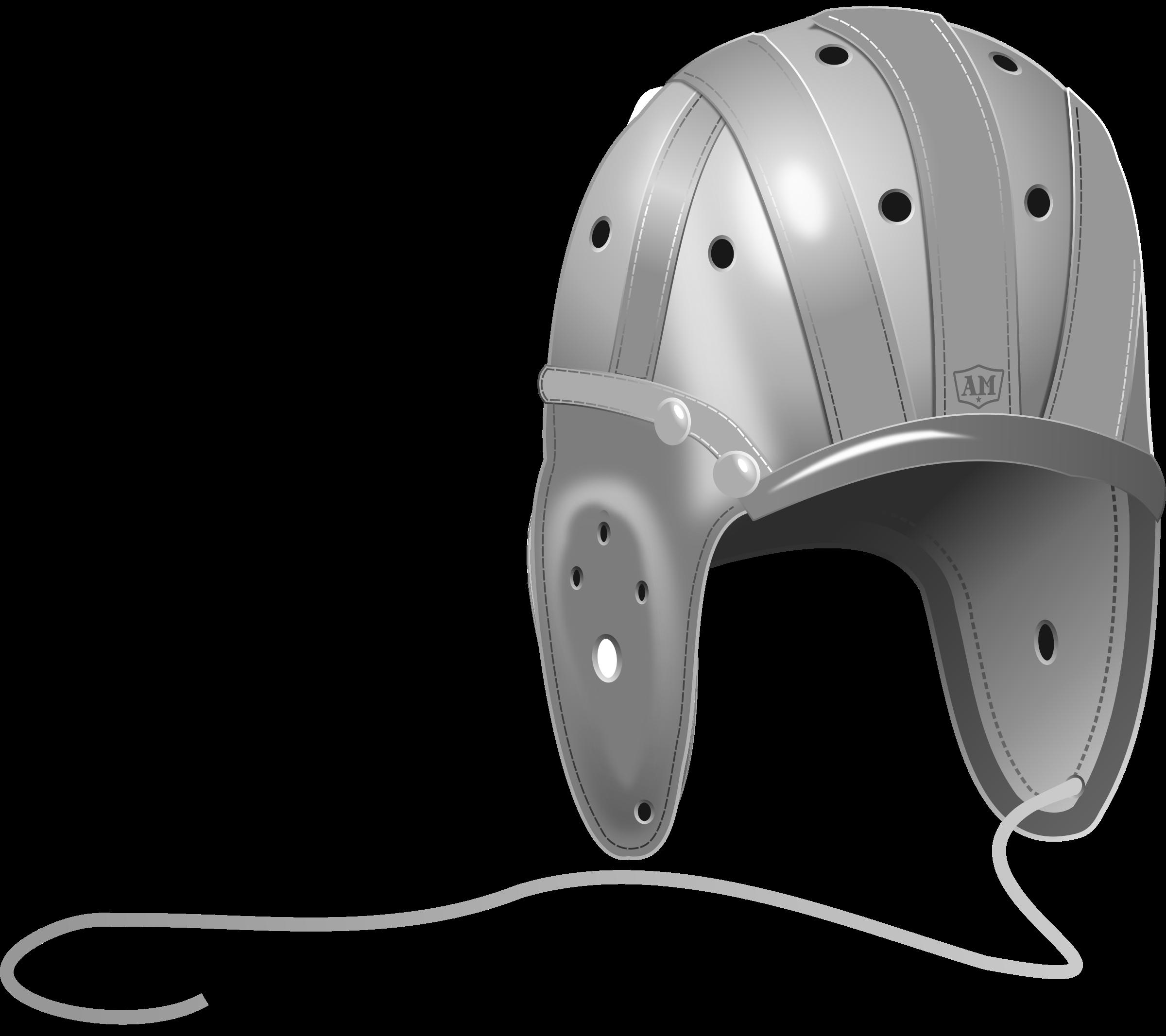 Helmet clipart motorbike helmet. S leather football big