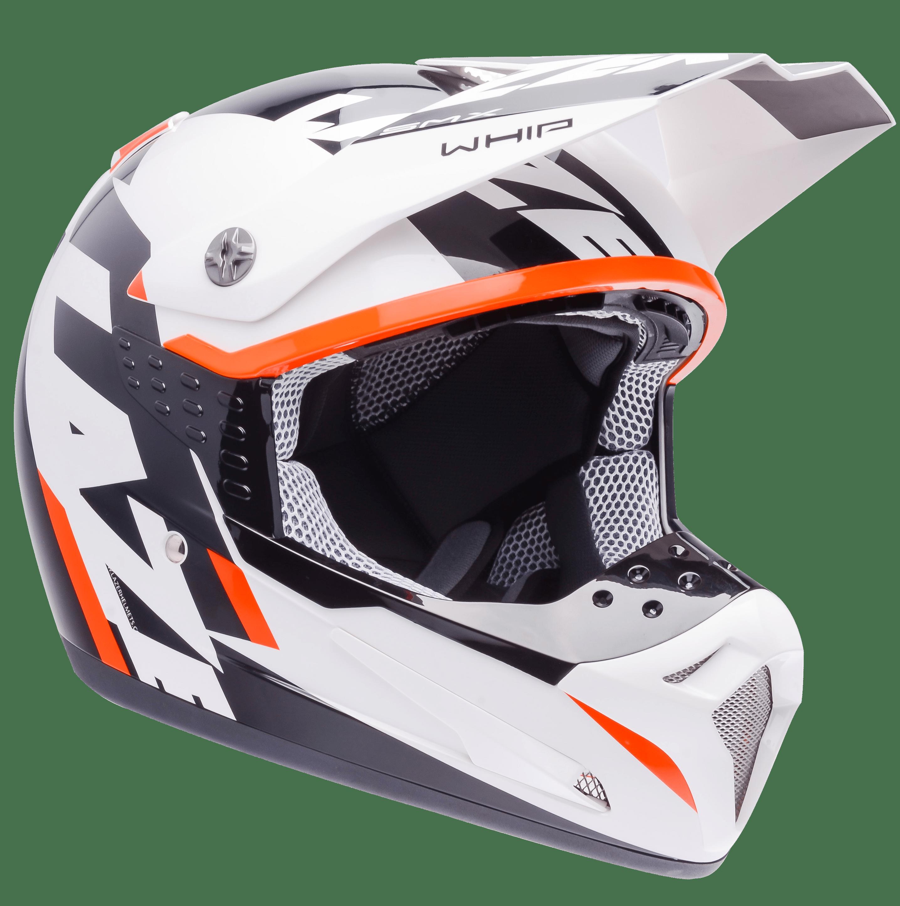 Helmet clipart orange. Motorcycle lazer smx whip