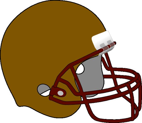 Helmet clipart orange. Football frr clip art
