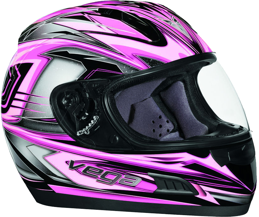 Helmets png images free. Motorcycle clipart pink motorcycle