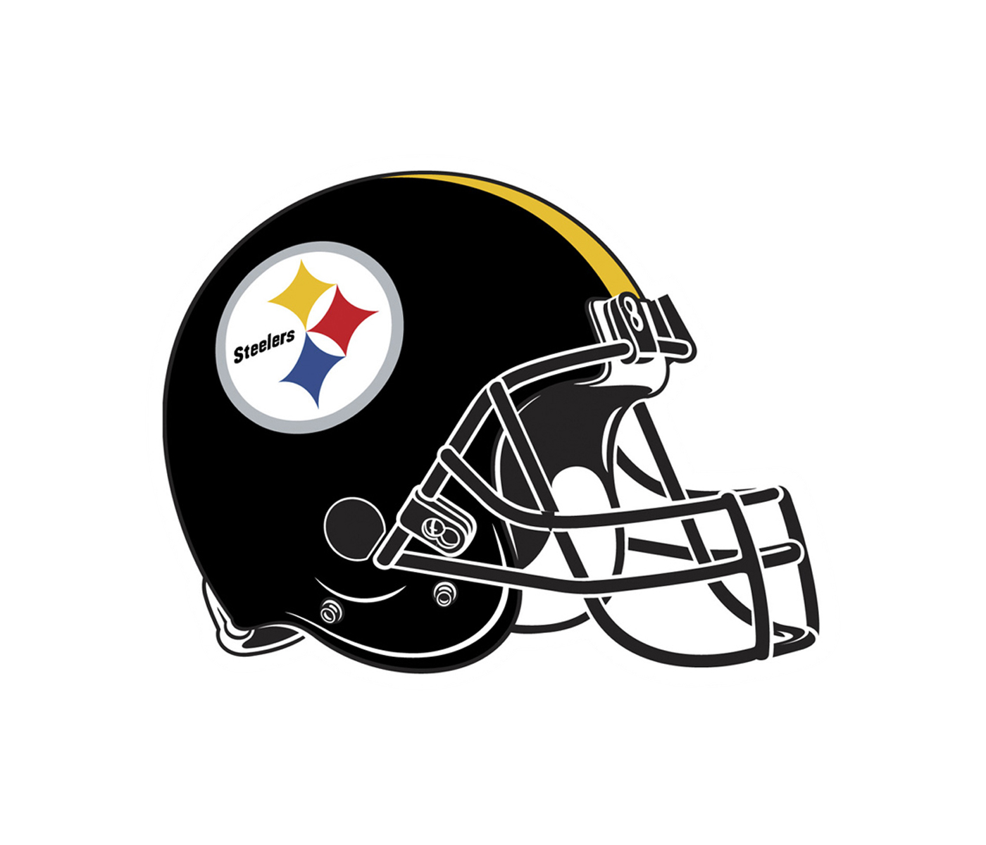 Steelers helmet png. Pittsburgh logo transparent svg