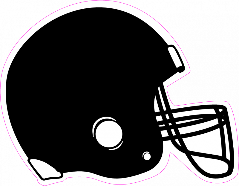 Printable football helmets cliparts. Helmet clipart plain