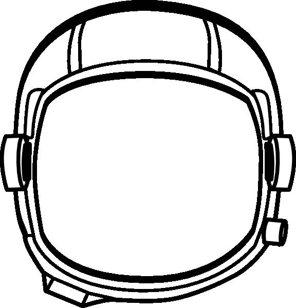 helmet clipart space