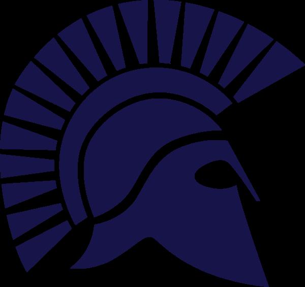 Transparent Background Spartan Helmet Logo Png