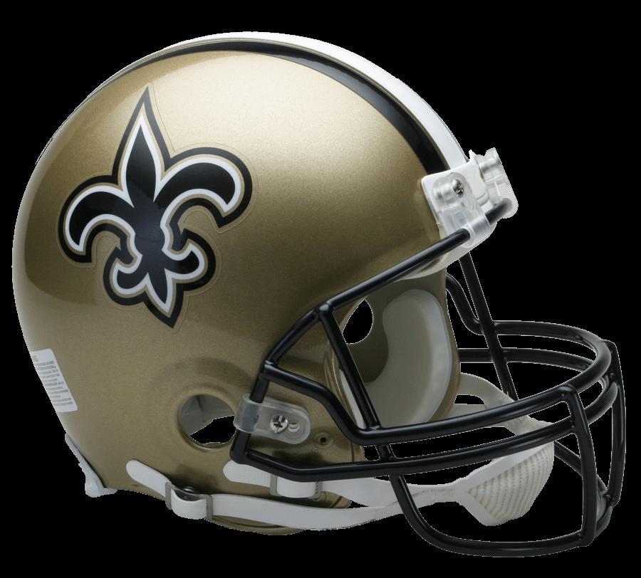 Nfl helmet png. New orleans saints transparent
