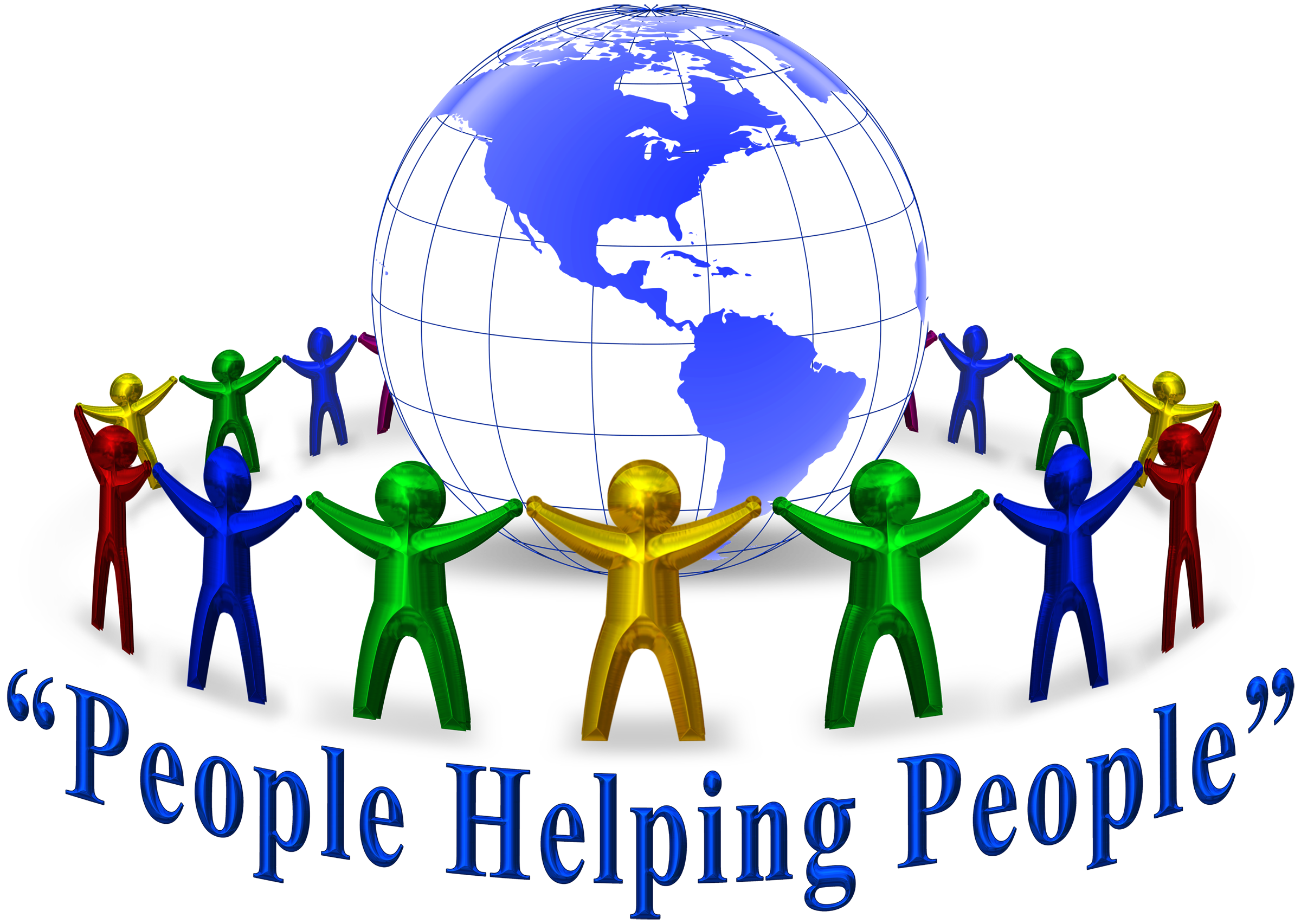 Helping group people free. Mlk clipart community resource
