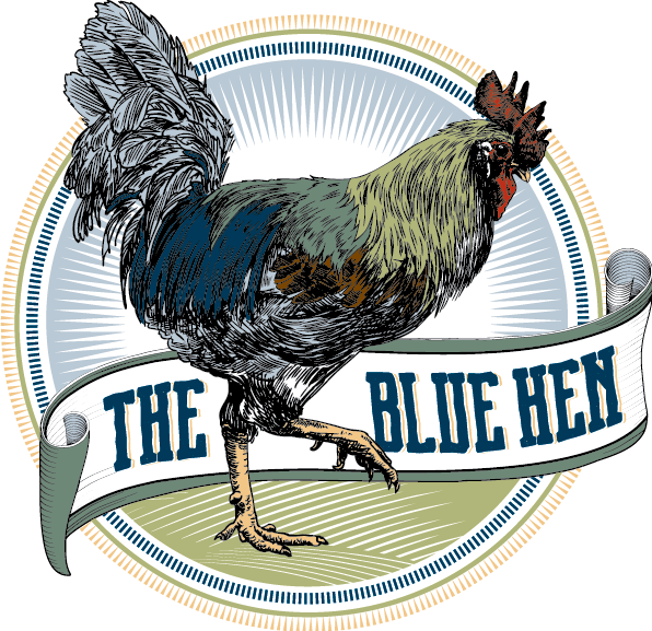 Hen clipart chicken eating corn. Eat the blue