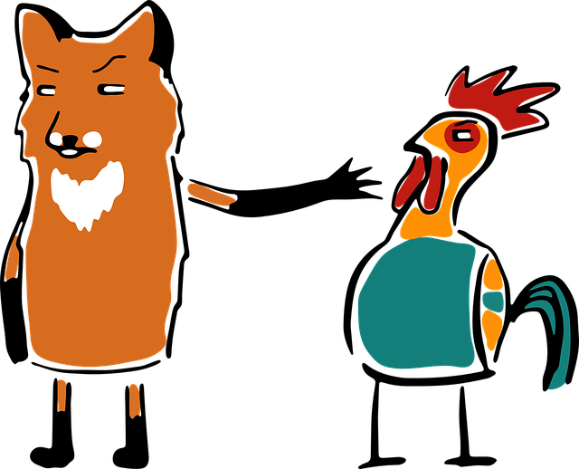 Hen clipart chicken eating corn. Justice for a thief