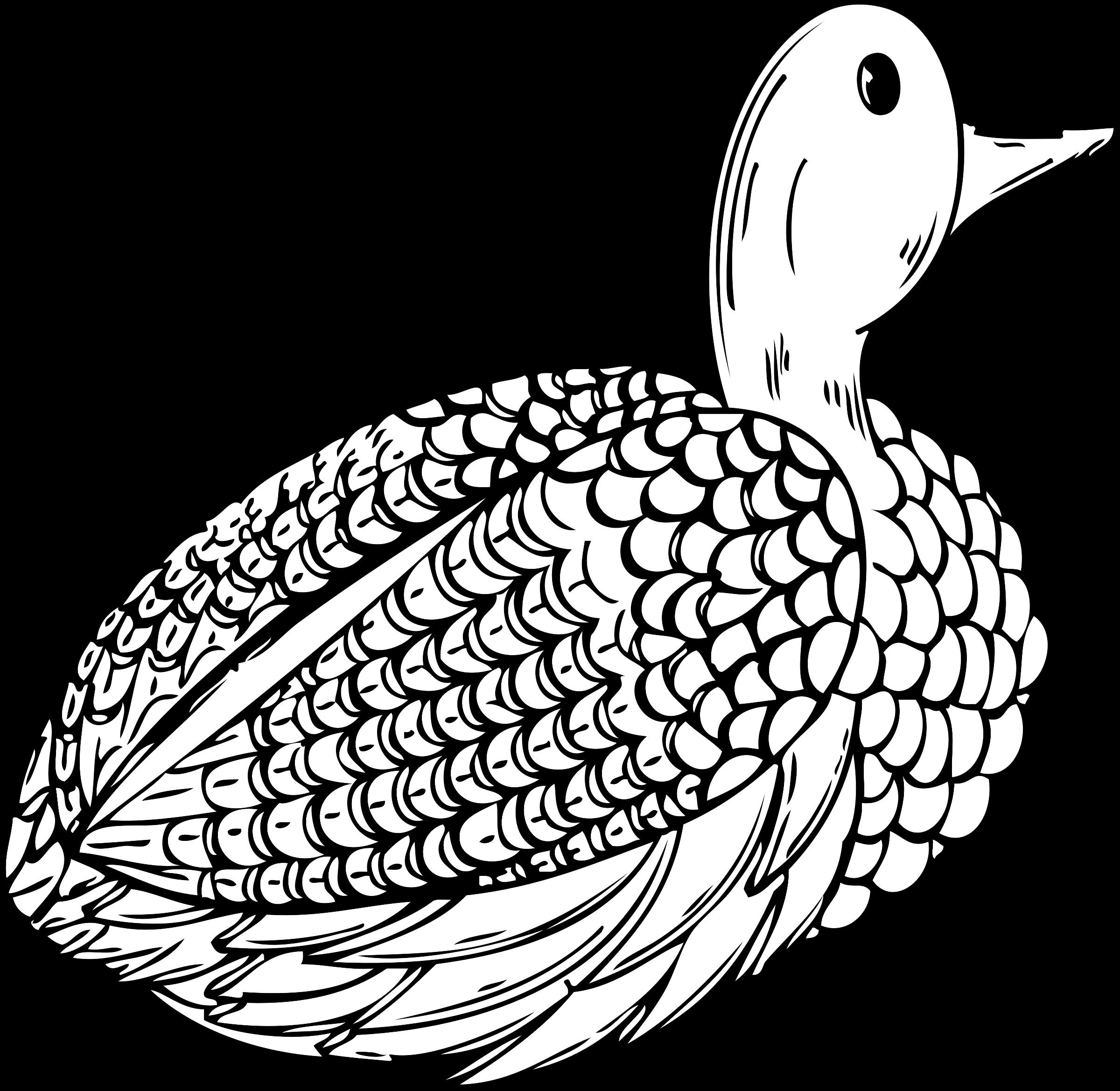 Hen clipart duck. Decoy big image png