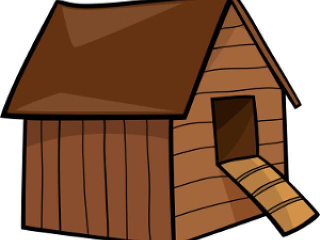 Hen clipart hut. Free download clip art