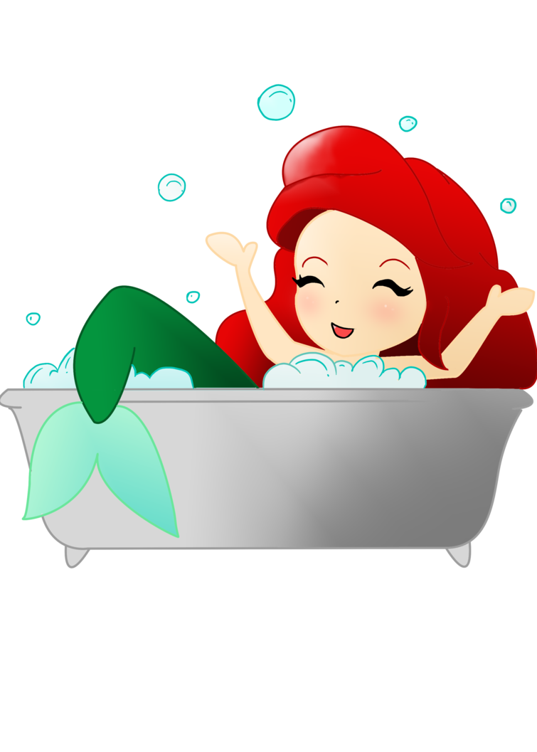 Ariel by watashiwagasaiyuno on. Hen clipart kawaii