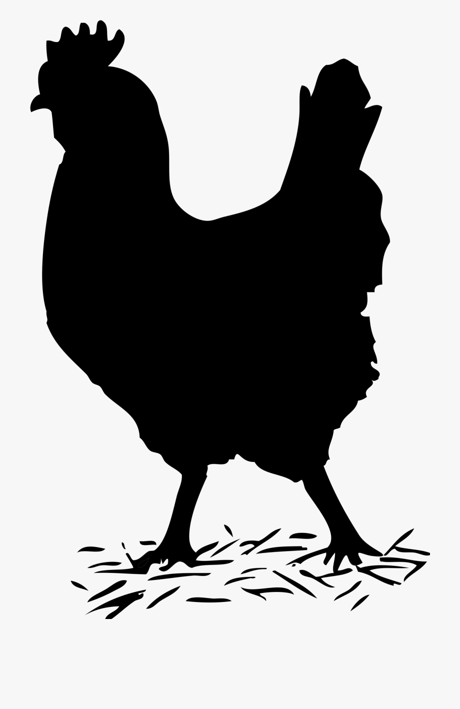 Hen clipart male chicken. Shapes black and white