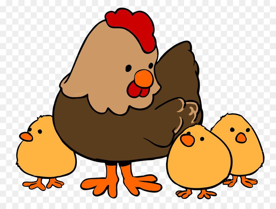 Hen clipart orange. Cartoon bird rooster chicken
