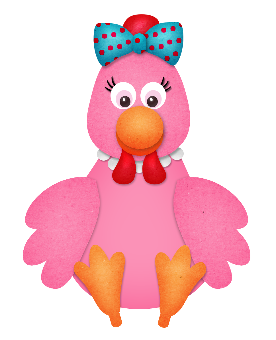 Hen clipart pink. Pin by marina on