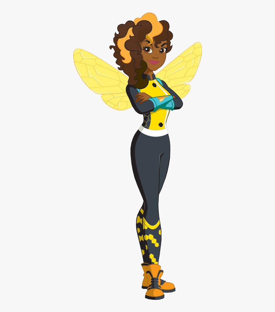 Bumble super girls free. Hero clipart bee