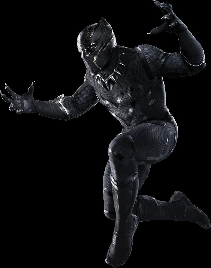 Hero clipart black panther, Hero black panther Transparent ...