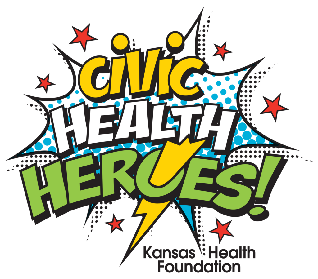 Civic heroes kansas foundation. Organization clipart health history