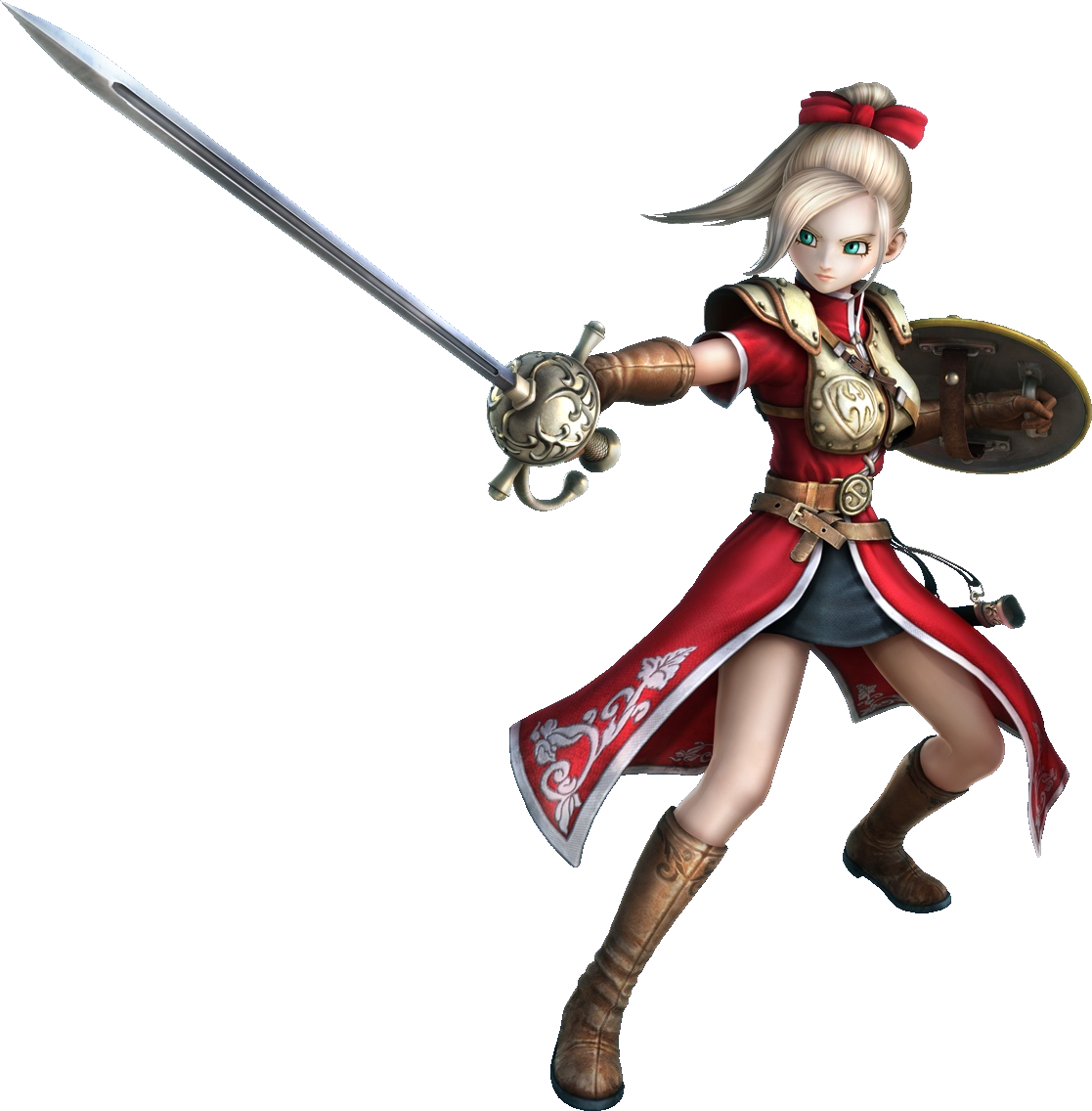 Aurora dragon quest heroes. Warrior clipart spear
