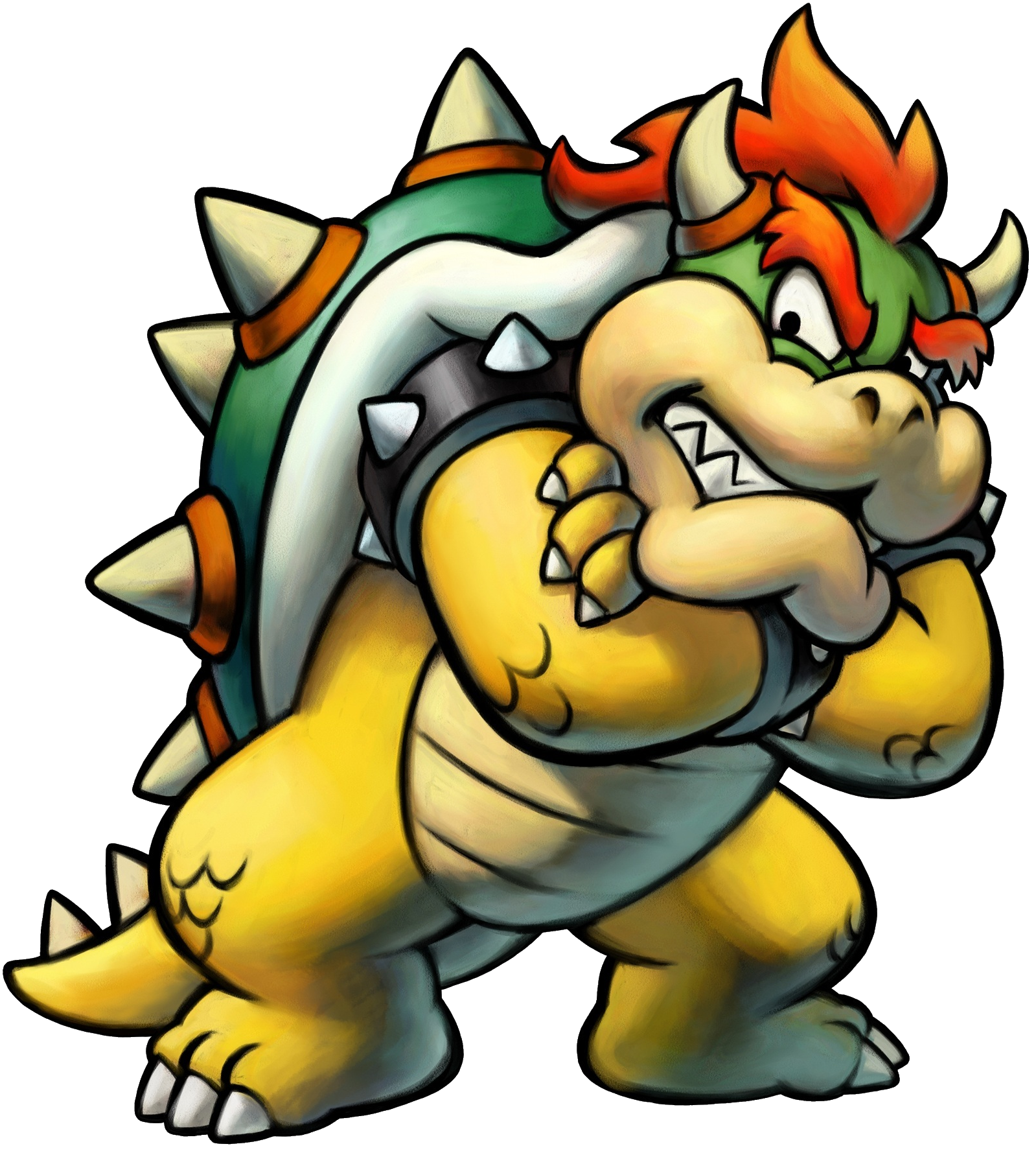 Hero clipart greatness. Image mlbis bowser png