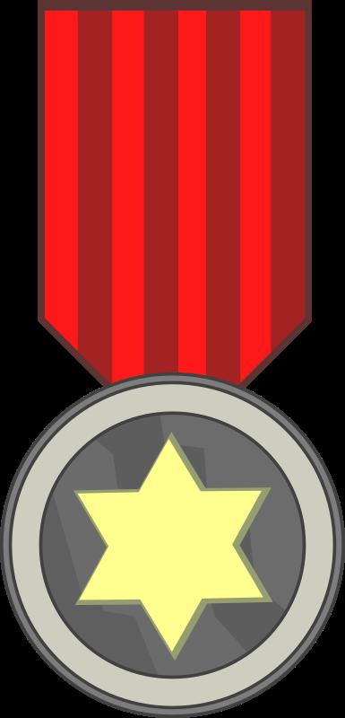 Hero clipart hero medal. Star award medium image
