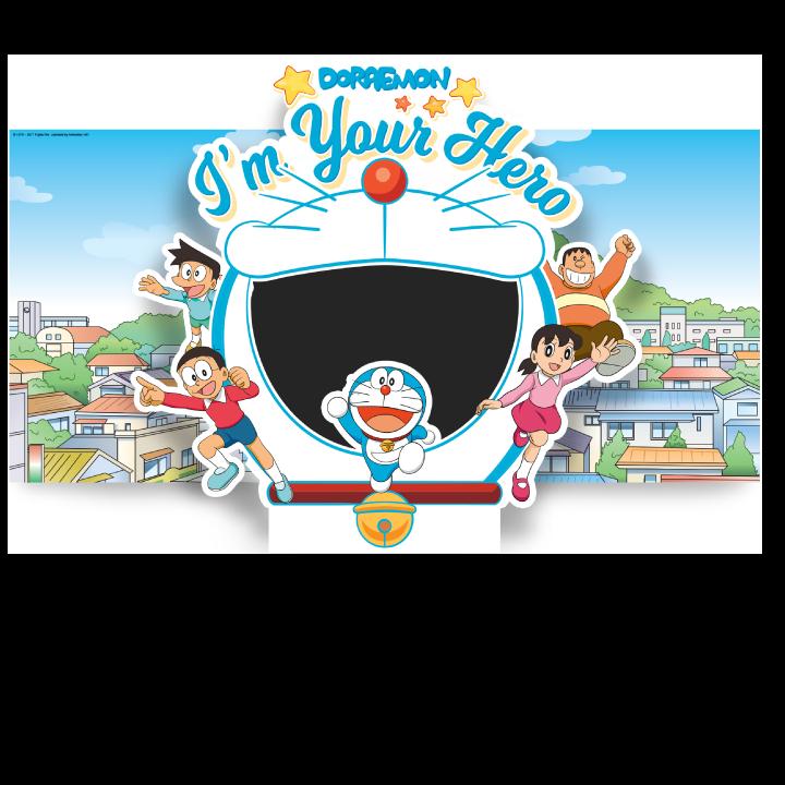Doraemon i m your. Hero clipart hero philippine