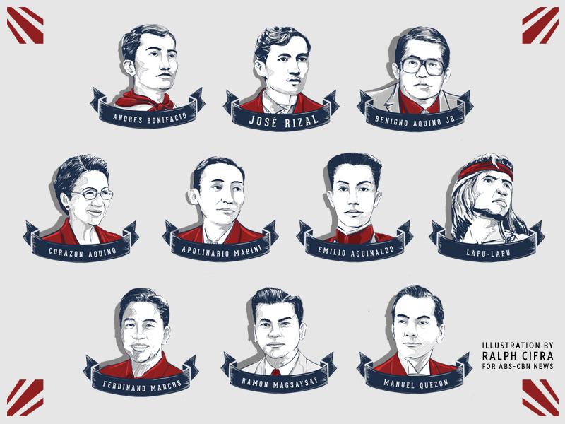 Filipino heroes and presidents. Hero clipart hero philippine