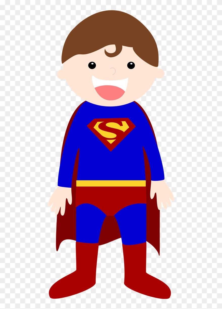 Hero clipart kindergarten. Superhero baby superman cartoon