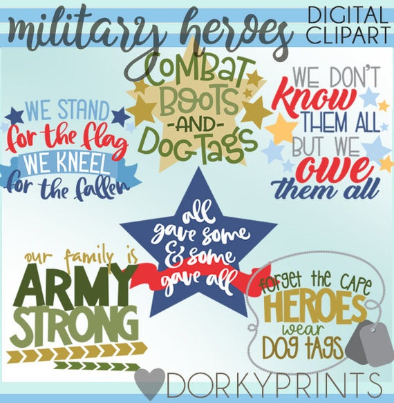 Hero clipart military hero. Set personal and limited