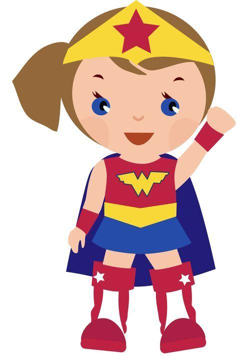 Hero clipart princess. Superhero printables silhouette girl