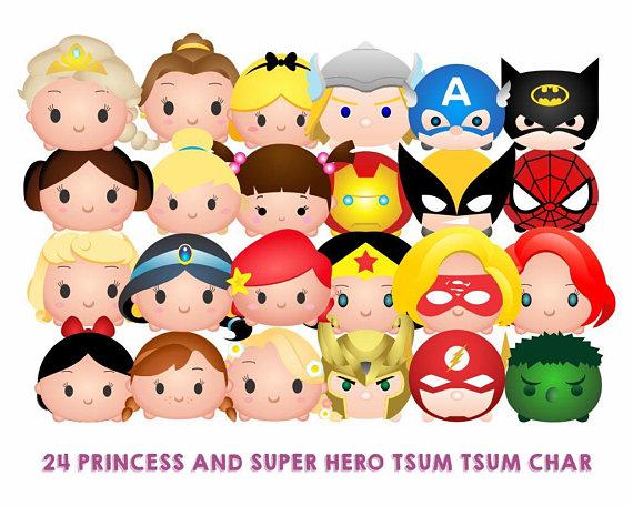 Hero clipart princess. Superhero tsum clip art