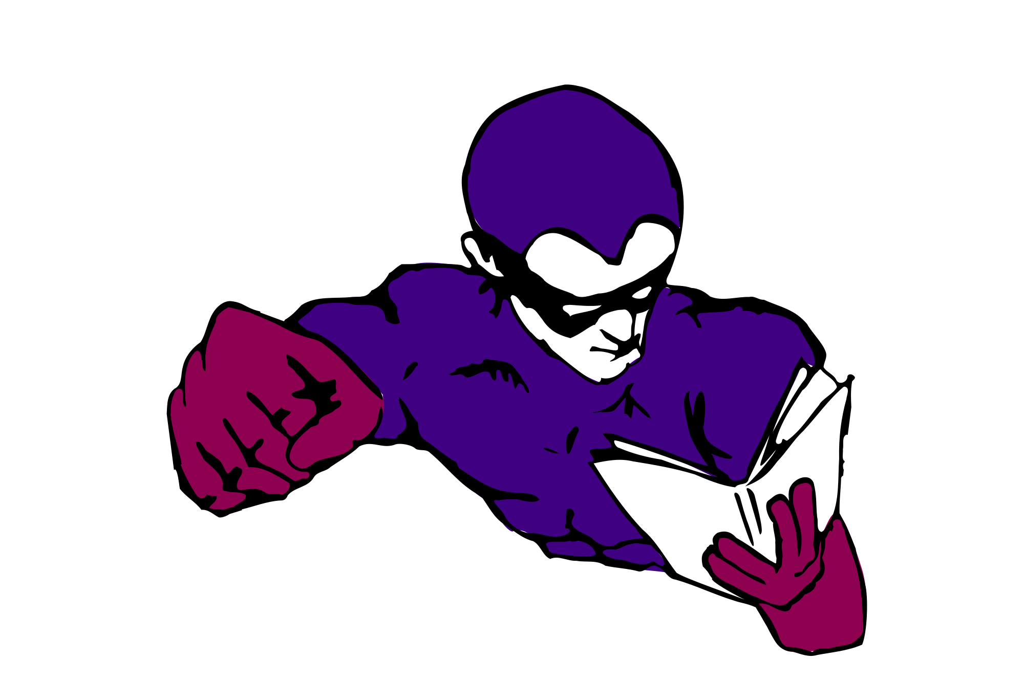Superhero psychology resources today. Purple clipart super hero