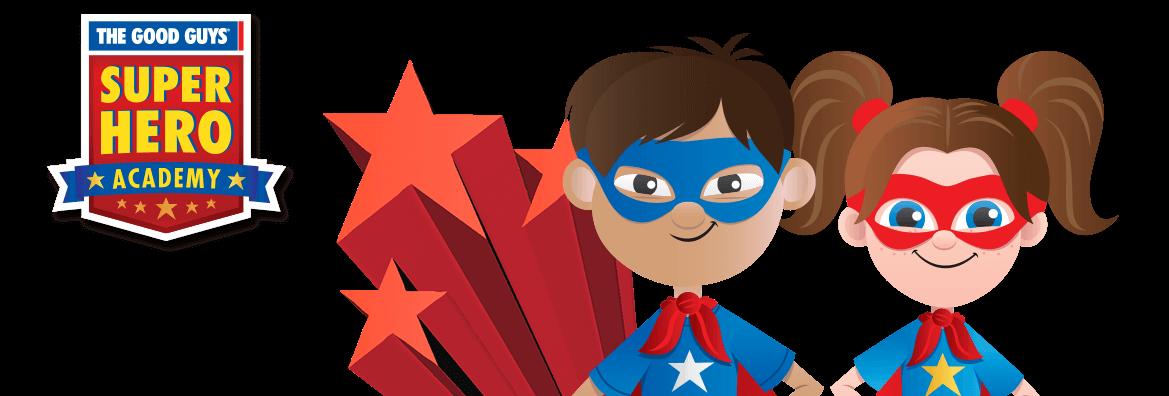 Hero clipart red superhero. The good guys super