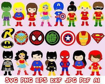 Hero clipart superhero. Etsy