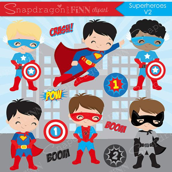 Our set for your. Hero clipart superhero themed