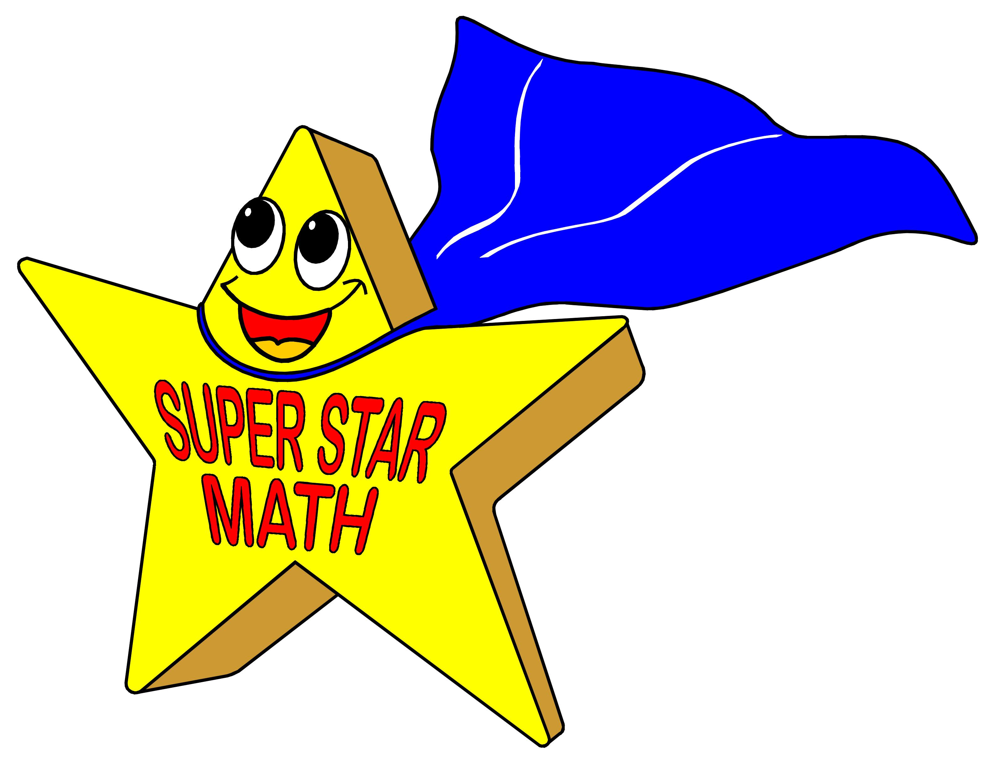 Super star free download. Math clipart awards