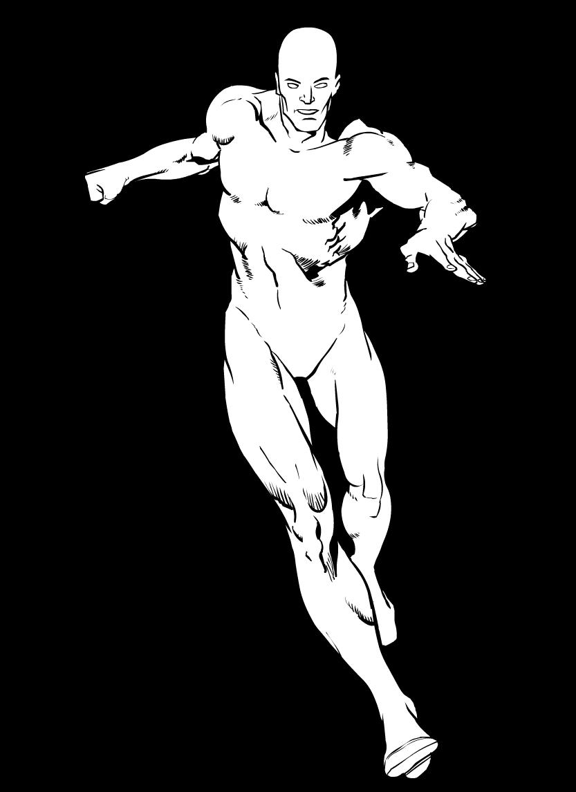 superheroes clipart body