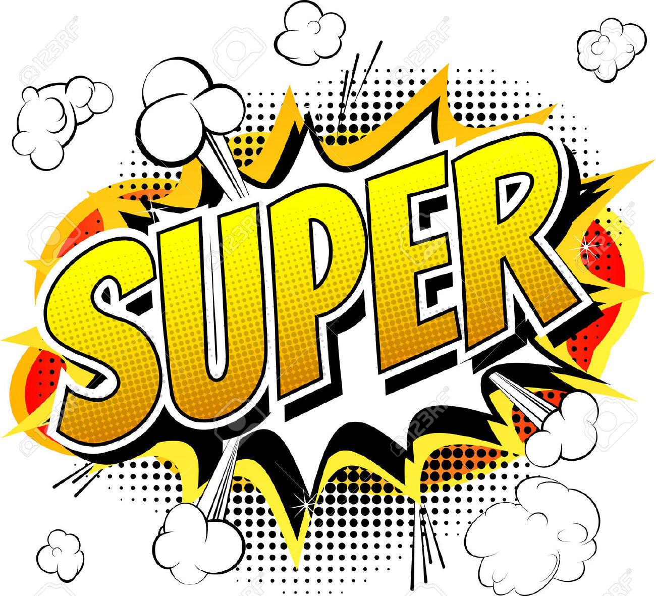 Free super word cliparts. Words clipart heroes