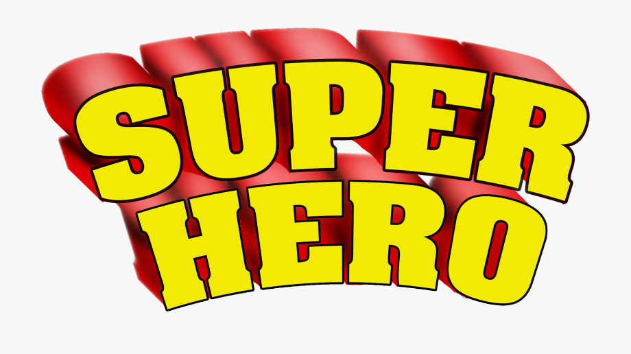 Super hero free cliparts. Superheroes clipart word