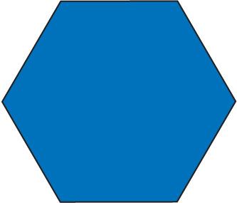 Shape . Hexagon clipart
