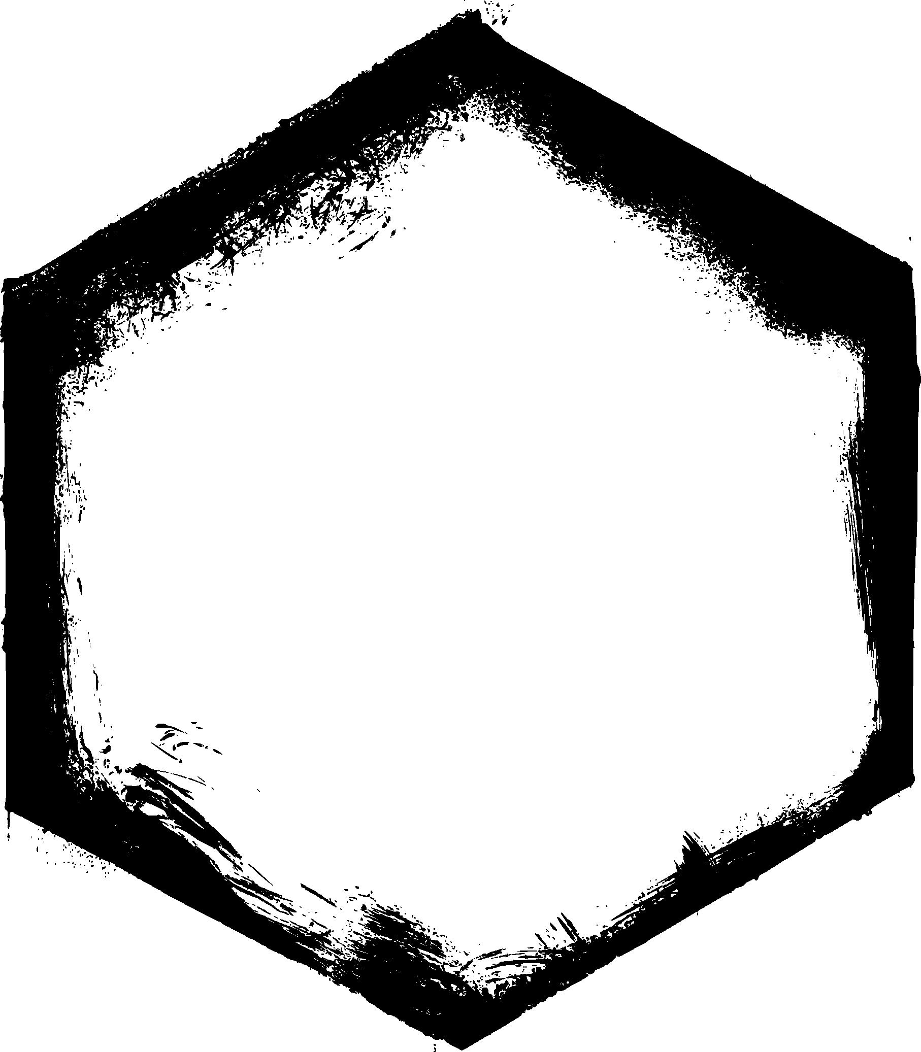 Hexagon hexagon frame