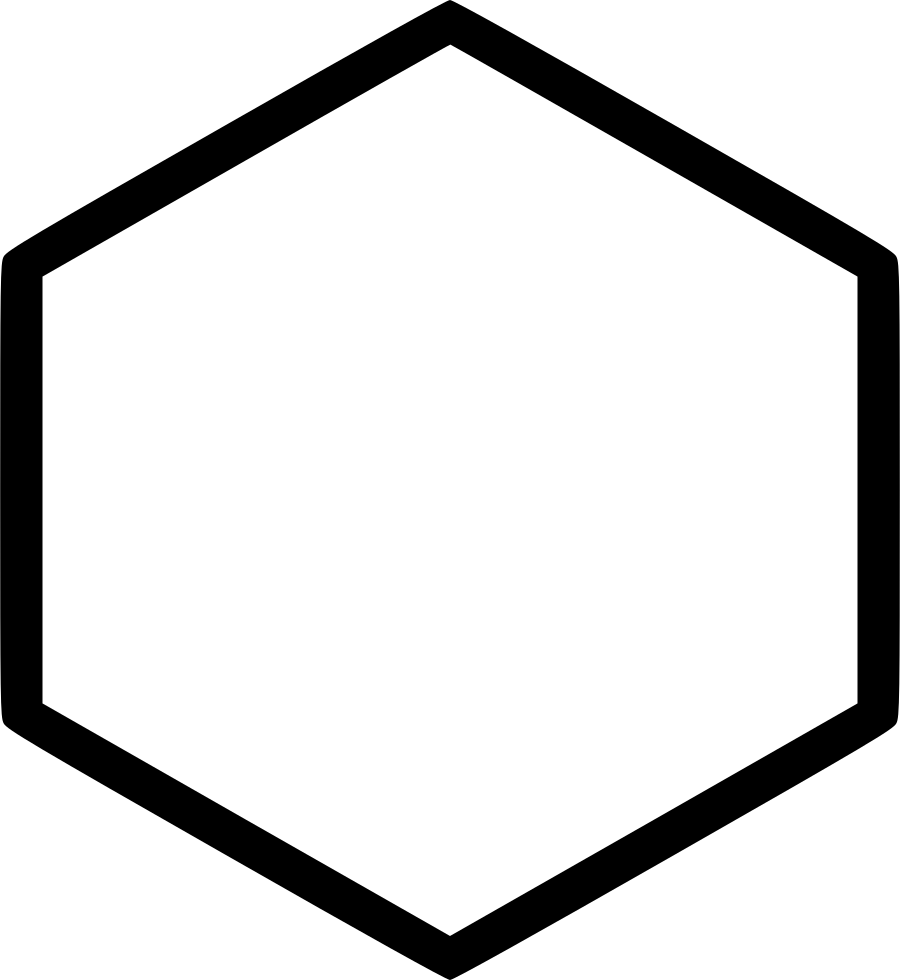 Svg png icon free. Hexagon clipart hexagon object