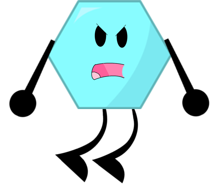 Image is evil png. Hexagon clipart hexagon object