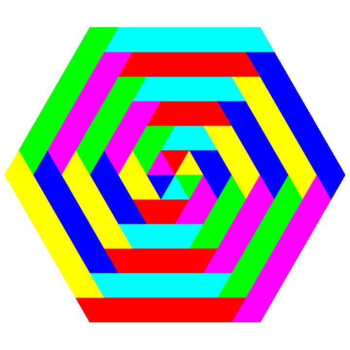 Hexagon clipart hexagon object. Polytrapezoid by binary on