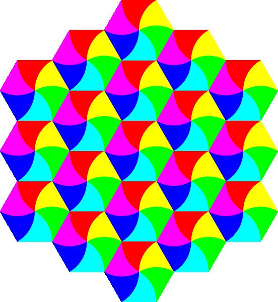 hexagon clipart hexagonal
