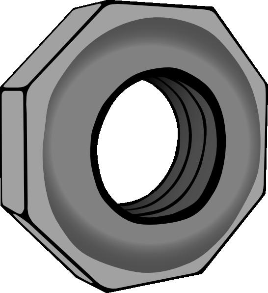 Nut clipart bolt tool. Hex clip art at