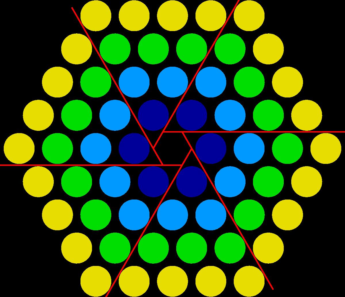 Centered hexagonal number wikipedia. Honeycomb clipart hexagon