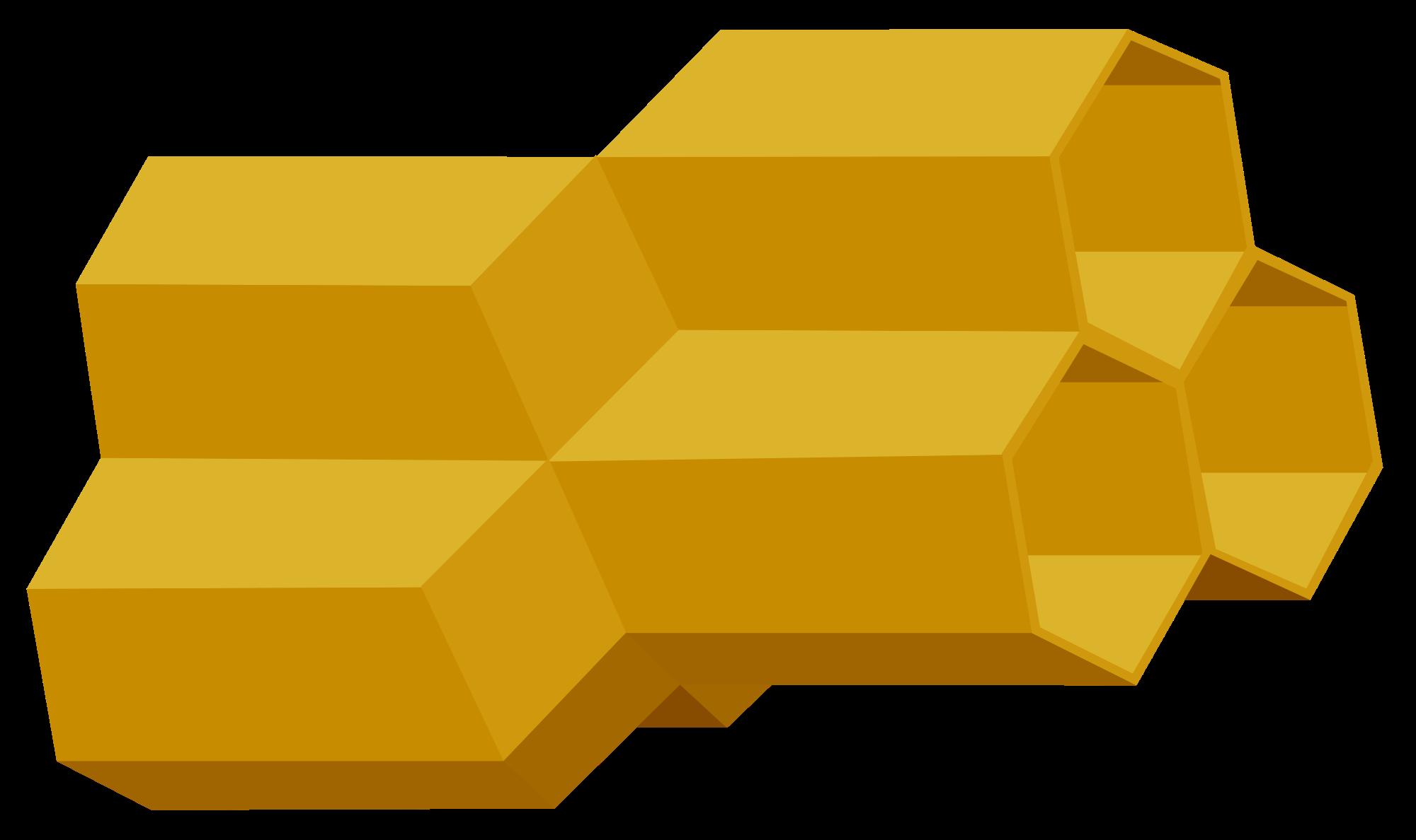 Honeycomb clipart honey comb. File d rot svg
